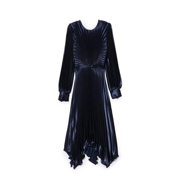 Robe en polyester, 325€, Sandro
