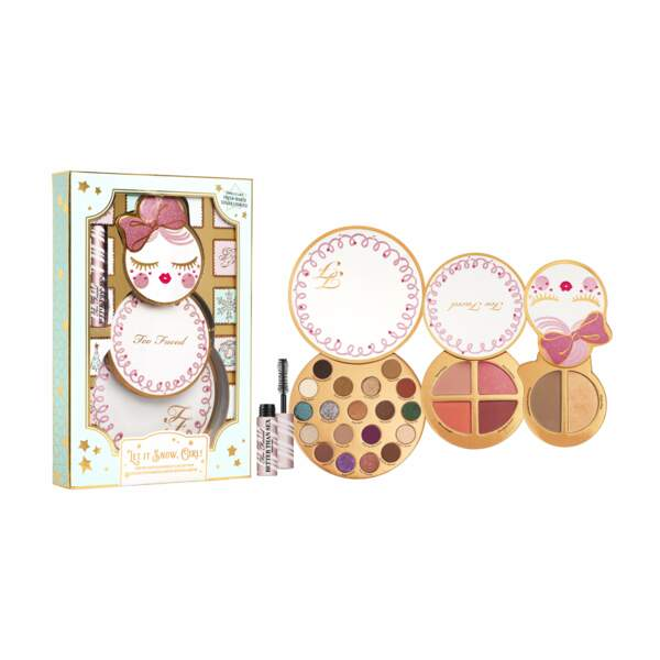 """Coffret make up """"Let it Snow Girl"""", Too Faced, 45€ chez Sephora"""