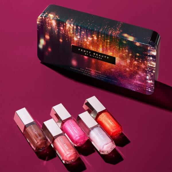 Collection de mini brillants à lèvres Gloss Bomb, Fenty Beauty, 39,90€ chez Sephora