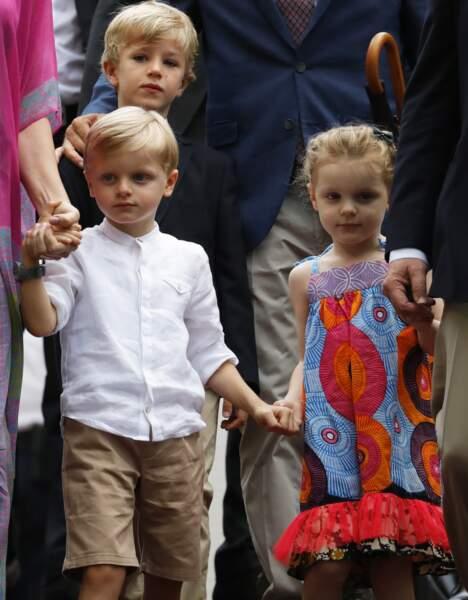 6 septembre 2019 : La princesse Gabriella et le prince Jacques, se sont rendus accompagnés de quelques amis, au traditionnel pique-nique des Monégasques.