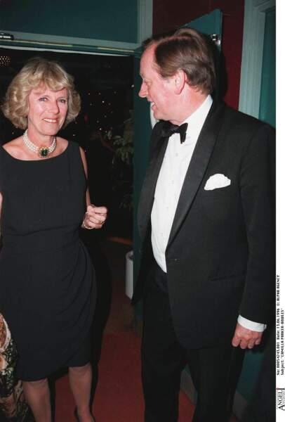 13 juin 1996 : Camilla Parker Bowles est aux côtés de son ex-époux, Andrew Parker Bowles avec qui elle divorce en 1995.