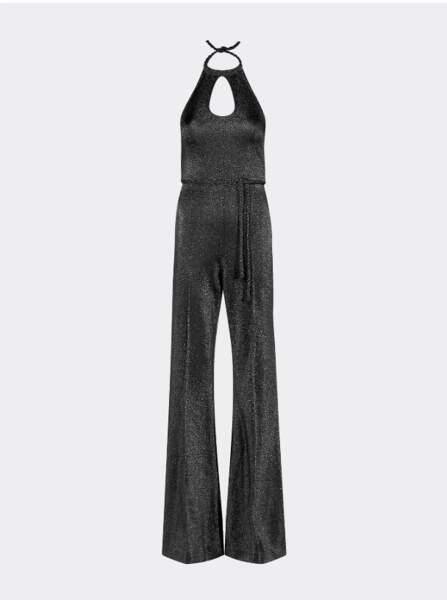 Combinaison métallisée dos nu à l'inspiration seventies, Tommy Hilfiger x Zendaya, 279€.