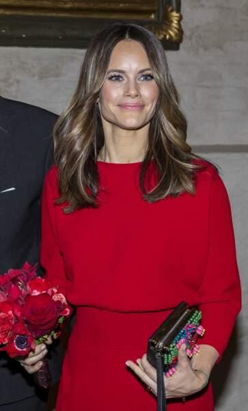 La princesse Sofia sublime au concert hommage à Avicii.