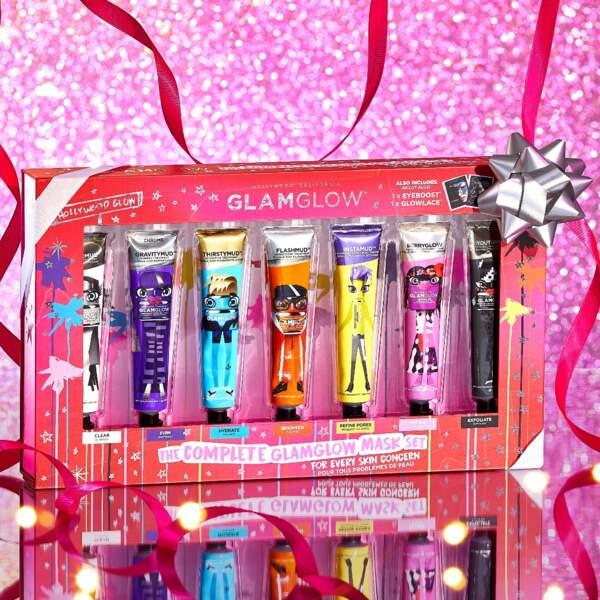 Kit de Masques Visage, Glamglow, 85 € chez Sephora