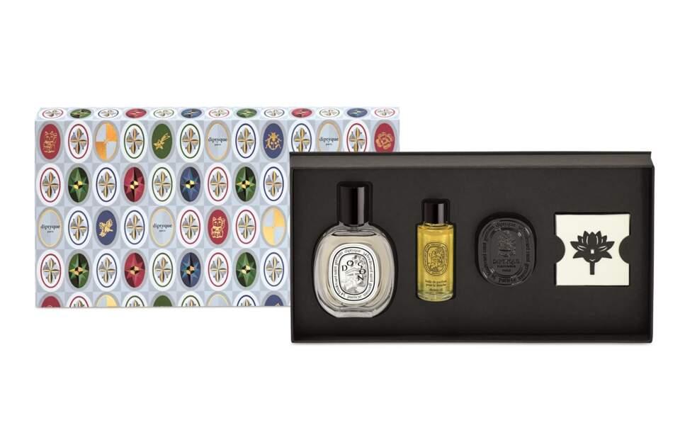 Coffret 4 Gestes Parfum Do Son, Diptyque, 120 €