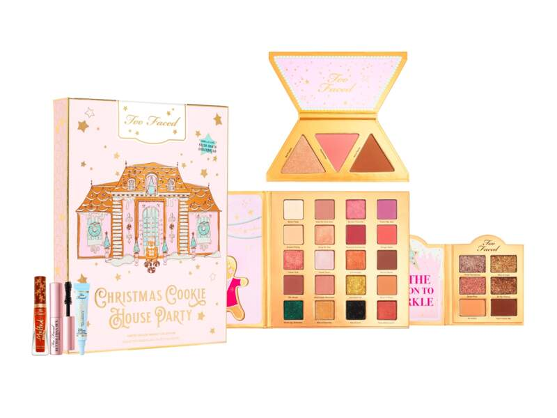 Christmas Cookie House Party, Too Faced, 55 € chez Sephora