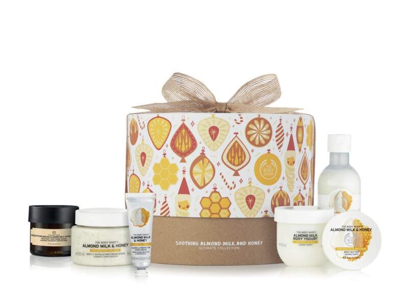 Coffret Deluxe Almond Milk and Honey, The Body Shop, 55 €