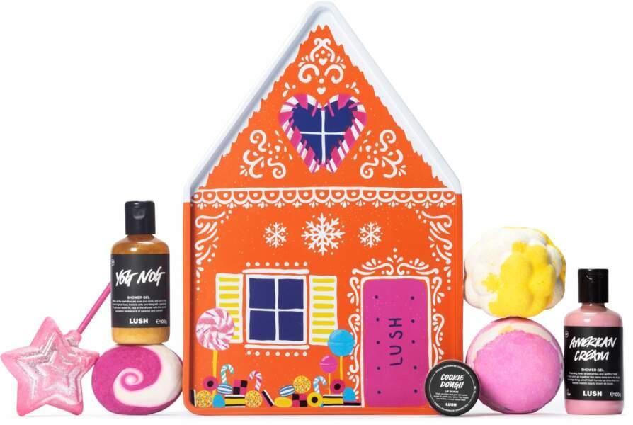 Gingerbread House, Lush, 65 €
