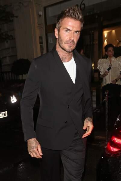 La banane glam', un classique pour David Beckham.