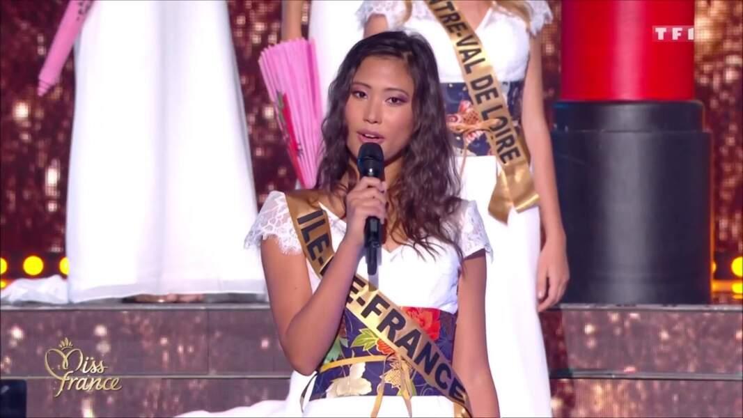 Miss Ile-de-France, Evelyne de Larichaudy