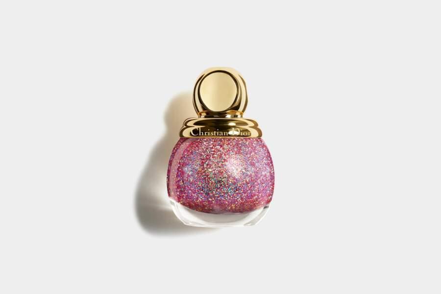 Diorific Vernis Top Coat à Paillettes Colorées Édition Limitée Happy 2020, Dior, 27,50 €