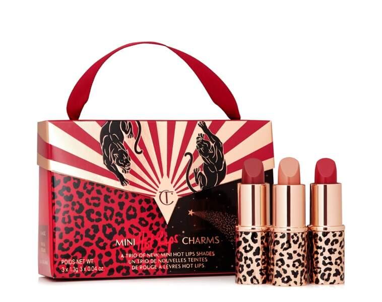 Mini Hot Lips Charms, Charlotte Tilbury, 30 €