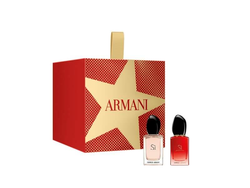 Cracker Eau de Parfum Sí, Giorgio Armani, 30 € chez Sephora