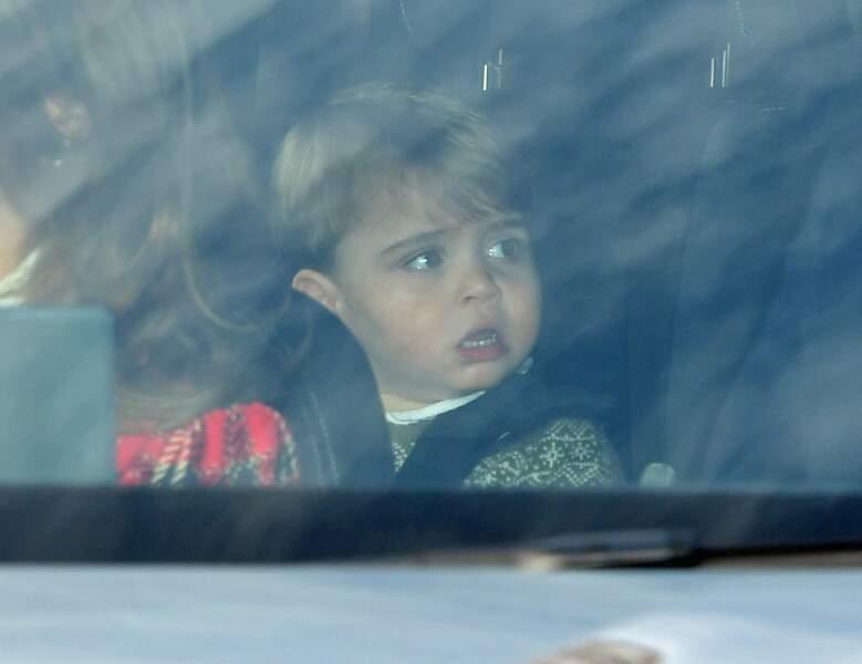 Le prince Louis était lui aussi convié à ce déjeuner organisé à Buckingham Palace. Et il a bien grandi !