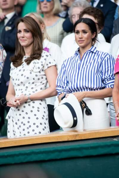 Une absence de Kate Middleton remarquée à cette baby shower américaine, qui a ravivé les rumeurs de brouille entre les deux belles-soeurs.