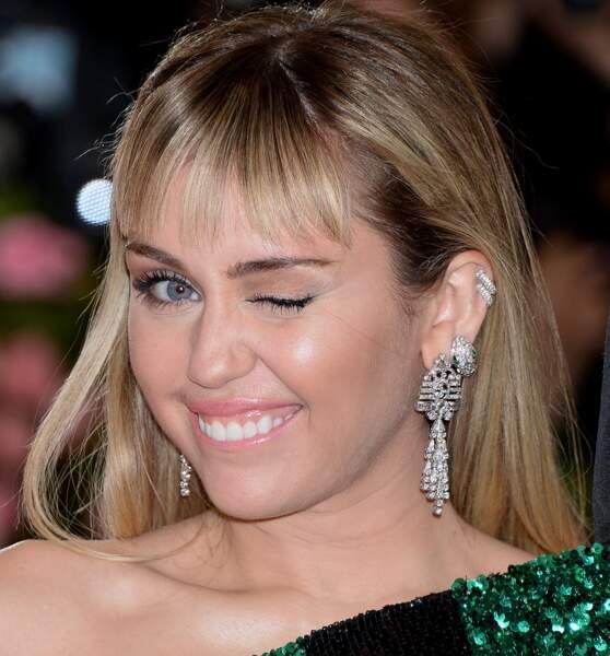 Lumineuse Miley Cyrus!