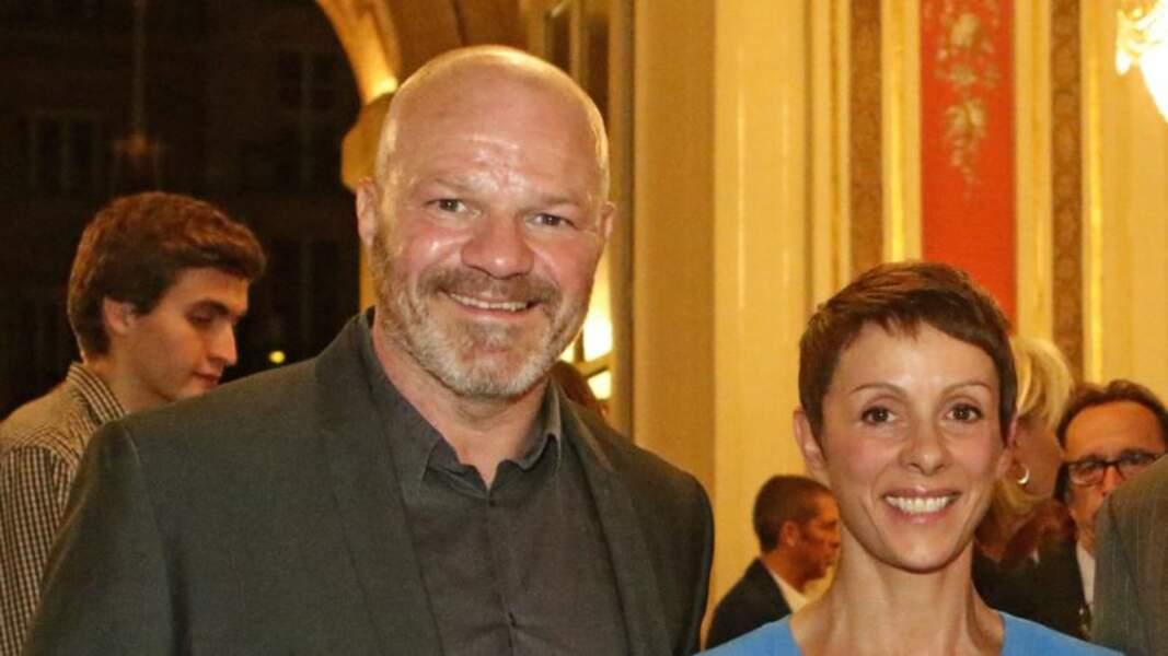 Philippe Etchebest a rencontré sa femme, Dominique, en 1994.