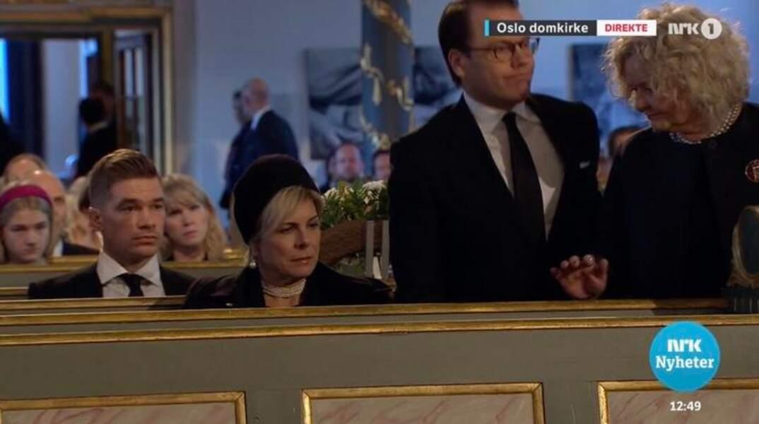 Le prince Daniel de Suède, venu sans la princesse Victoria de Suède, était accompagné de la princesse Laurentien des Pays-Bas
