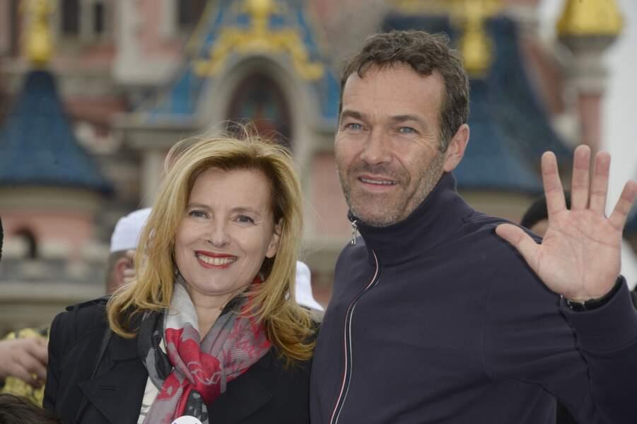 16 mai 2015 : Valérie Trierweiler à Disneyland.