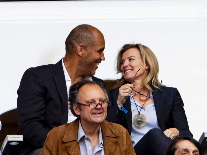 2 juin 2018 : Valérie Trierweiler et Romain Magellan.