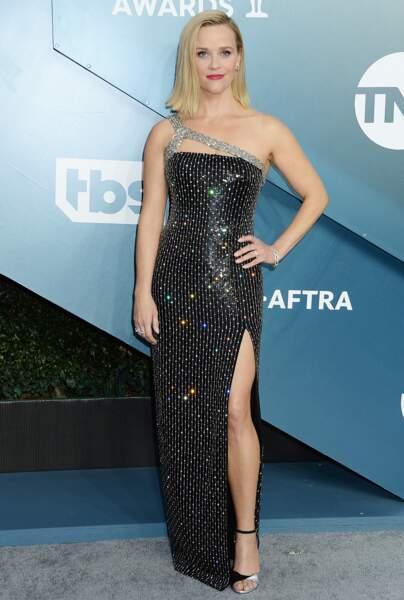 Reese Witherspoon en CELINE by Hedi Slimane.