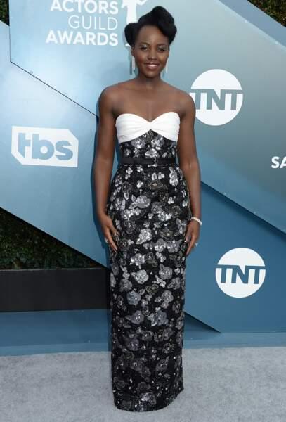 Lupita Nyong'o en louis Vuitton.