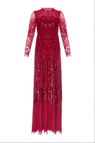 Moins de 12h après que Kate Middleton l'ai portée, sa robe signée Needle & Thread à 535 €est en rupture de stock.
