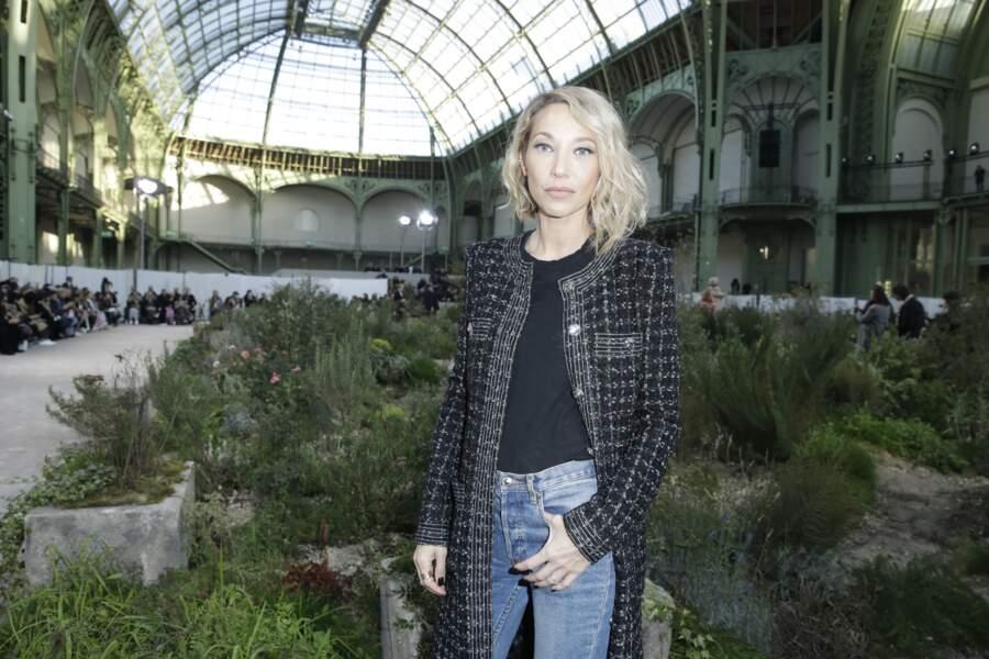 Laura Smet fidèle depuis quelques saisons aux défilés Chanel