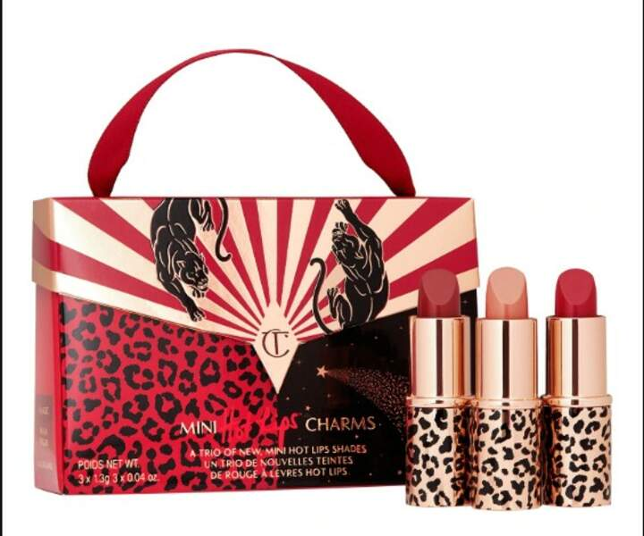 Mini lipstick trio handbag, Charlotte Tilbury, 29,90€