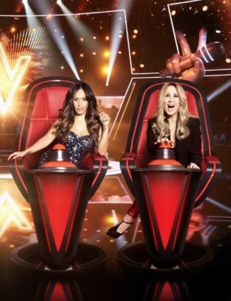 Janvier 2020 : Lara Fabian est maintenant juge pour The Voice. Ultra glamour, elle rayonne lors de chaque prime de l'émission diffusée le samedi depuis le 18 janvier 2019.