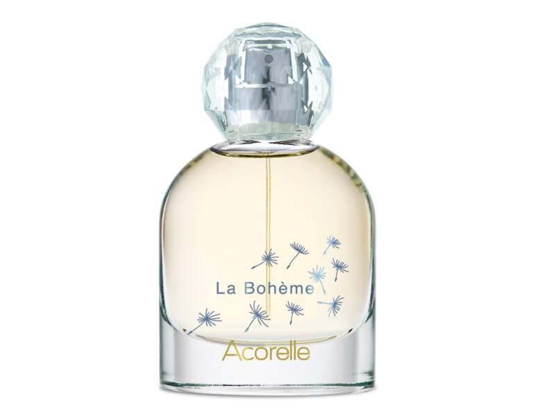Eau de parfum La Bohème, Acorelle, 39€