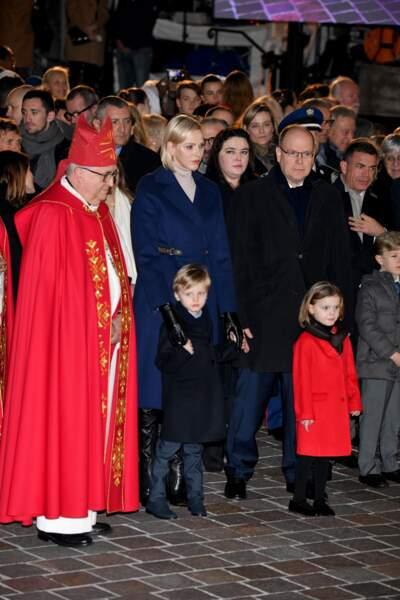 Le prince Albert II de Monaco, la princesse Charlene et leurs jumeaux ont participé aux célébrations de la Sainte Dévote, Sainte Patronne de Monaco