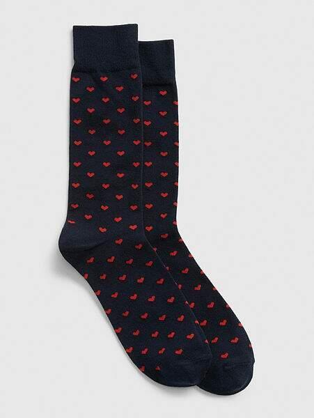 Paire de chaussettes coeur, 7€95, GAP