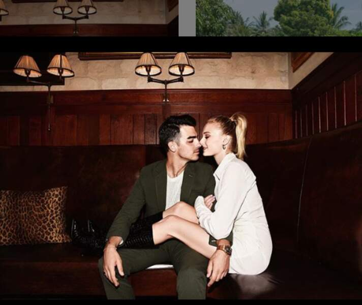 Sophie Turner et son conjoint ,Joe Jonas le 20 juillet 2019