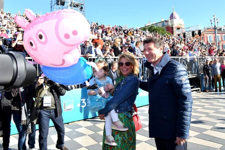 En ce moment, Christian Estrosi, maire de Nice, célèbre le Carnaval qui a lieu chaque année dans sa ville.