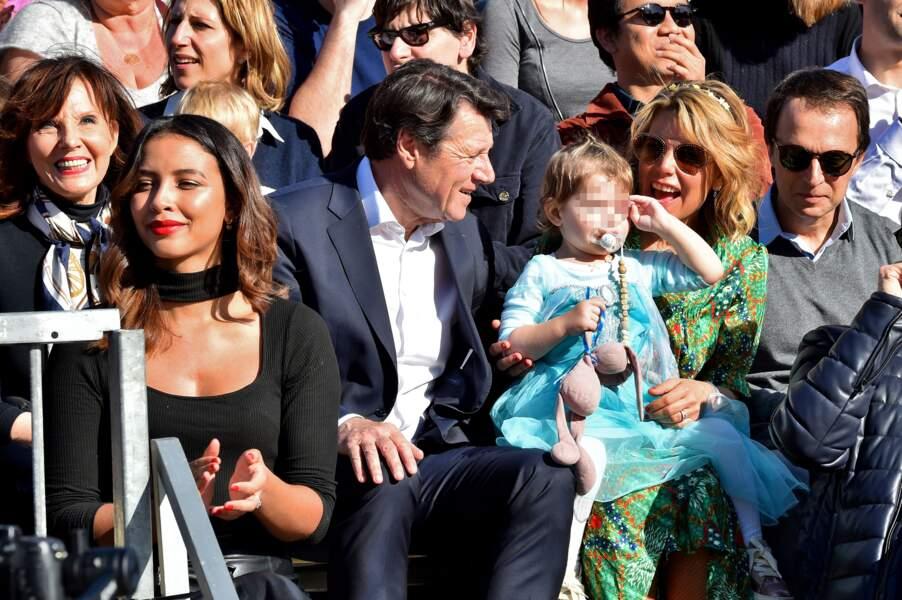Ce samedi 15 février, Christian Estrosi et sa petite famille ont assisté au 136e Carnaval de Nice.