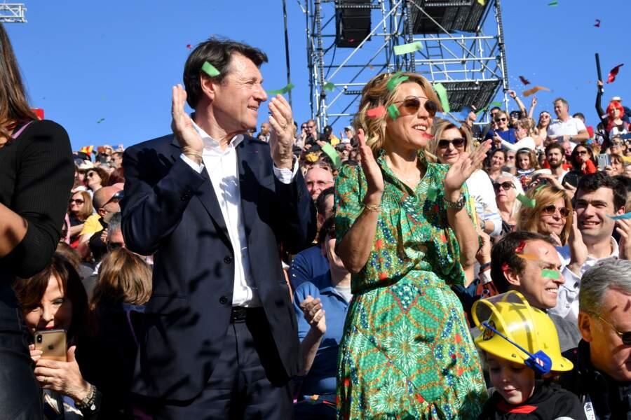 Quelques heures auparavant, Christian Estrosi et son épouse Laura Tenoudji lançaient le coup d'envoi du Carnaval en affichant leurs déguisements.