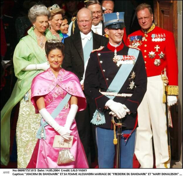 Le prince Joachim de Danemark, a épousé Alexandra Christina Manley - aujourd'hui connue sous le nom de comtesse de Frederiksborg - en 1995.