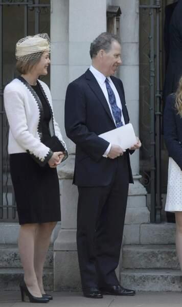 David Armstrong-Jones, fils aîné de la regrettée Princesse Margaret, épousa Serena, née Stanhope, en 1993.