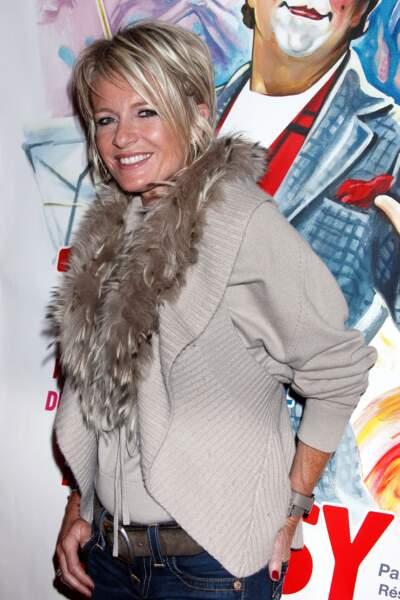 Janvier 2011 : Sophie Davant, revient aux cheveux méchés et effilés lors du 19e Festival du Cirque International de Massy