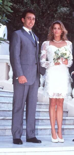 La princesse Stéphanie de Monaco et Daniel Ducruet