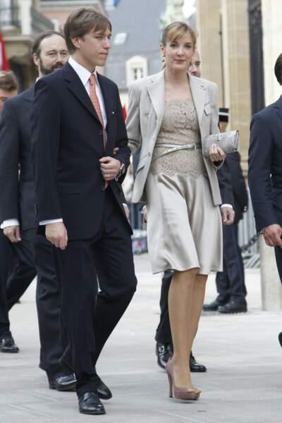 Alors qu'elle n'était pas encore mariée au prince, Tessy a donné naissance à un garçon, prénommé Gabriel Michael Louis, en 2006. Le couple s'est alors marié plus tard cette année-là.