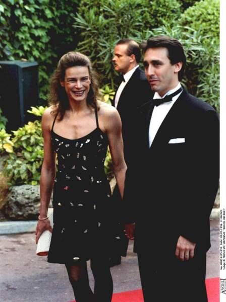 Daniel Ducruet était le garde du corps de Stéphanie de Monaco. Ils tombèrent amoureux en 1992.