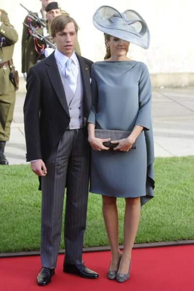 Le prince Louis et la roturière Tessy Antony se sont rencontrés dans l'armée.