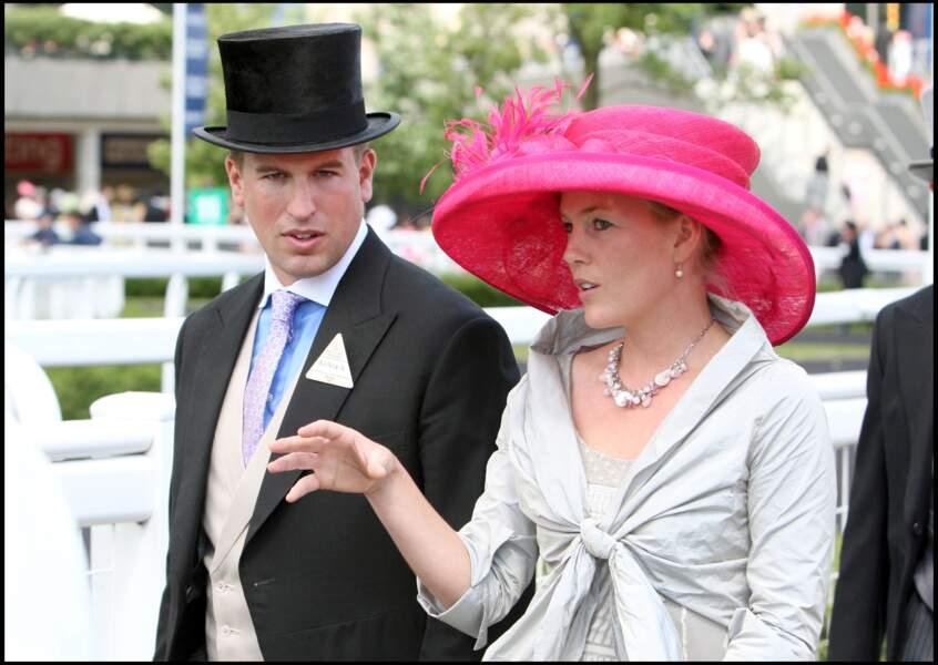 Peter Phillips, premier petit-fils de la reine et fils de la princesse Anne, épouse la canadienne Autumn Kelly en mai 2008.