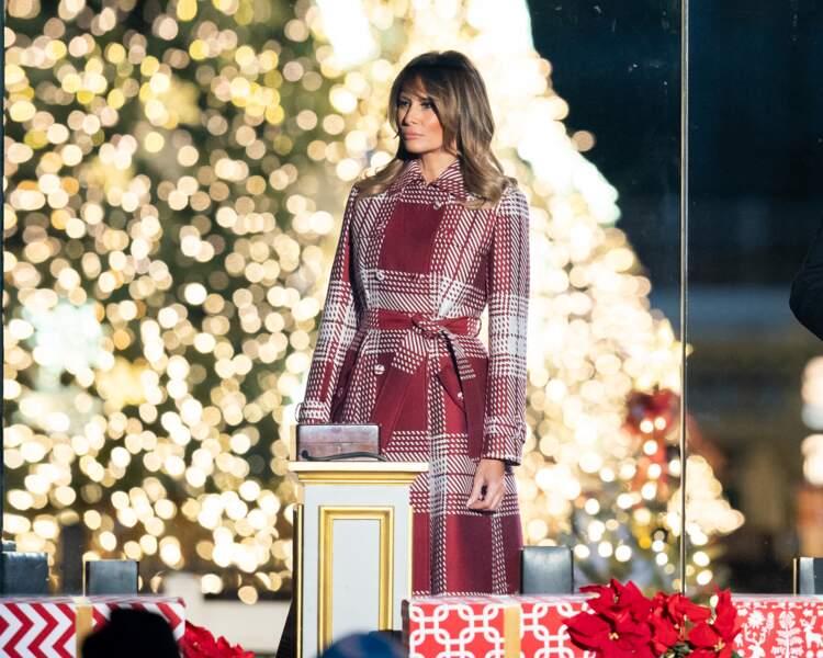 Melania Trump à Washington, le jeudi 5 décembre 2019