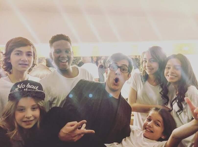 Jérémy Chabron et les Kids United, saison 7 de la Star Academy