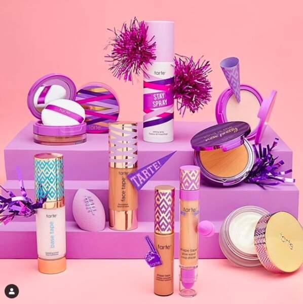 Packaging chic, formules vegan et naturelles, le maquillage Tarte est désormais vendu en France chez Sephora.