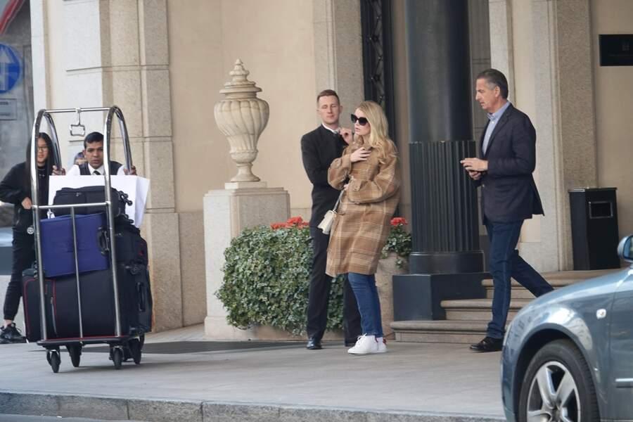 Le couple y séjournait à l'occasion de la Fashion Week de Milan, qui s'est déroulée du 18 au 24 février.
