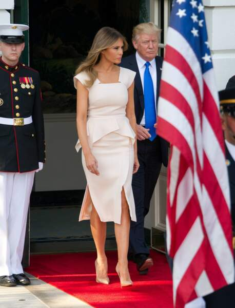 Melania et Donald Trump, le 29 juin 2017 à Washington